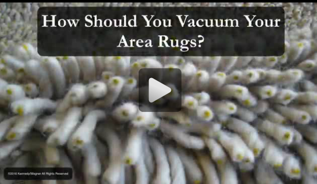 How Should You Vacuum Your Area Rugs?